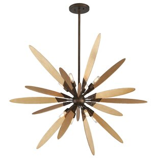 Corrigan Studio Kiera 8-Light Sputnik Chandelier