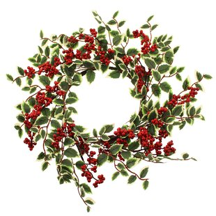 Berry 50cm Artificial Wreath By The Seasonal Aisle