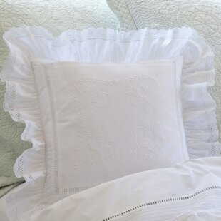Prairie Crochet Cotton Throw Pillow
