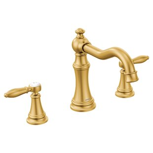Find the perfect Weymouth Two Handle High Arc Roman Tub Faucet ByMoen