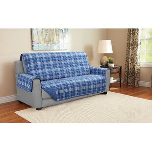 Giancarlo Plaid Furniture Protector by Charlton Home Bargain