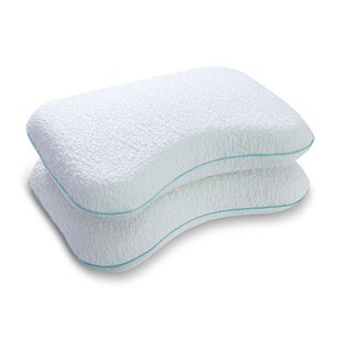 Altha Dual Sided Cervical Support Memory Foam Standard Pillow (Set of 2)