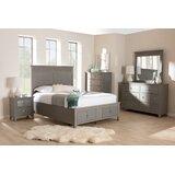 Gamal Queen Platform Solid Wood 6 Piece Bedroom Set by Winston Porter