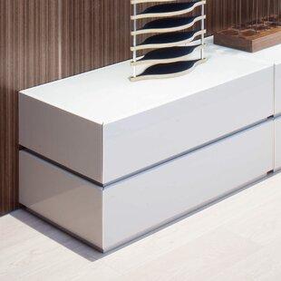 Argo Furniture Potenza 2 Drawer Nightstand