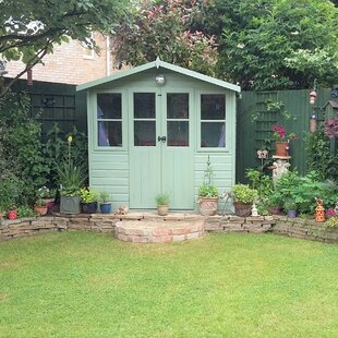 Pratella 6.5 X 5 Ft. Shiplap Summer House Image