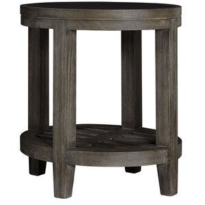 Vickrey Oval End Table by Brayden Studio