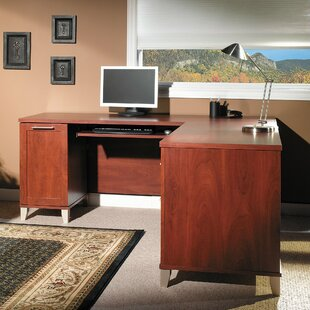 Review Chase L-Shape Executive Desk by Red Barrel Studio