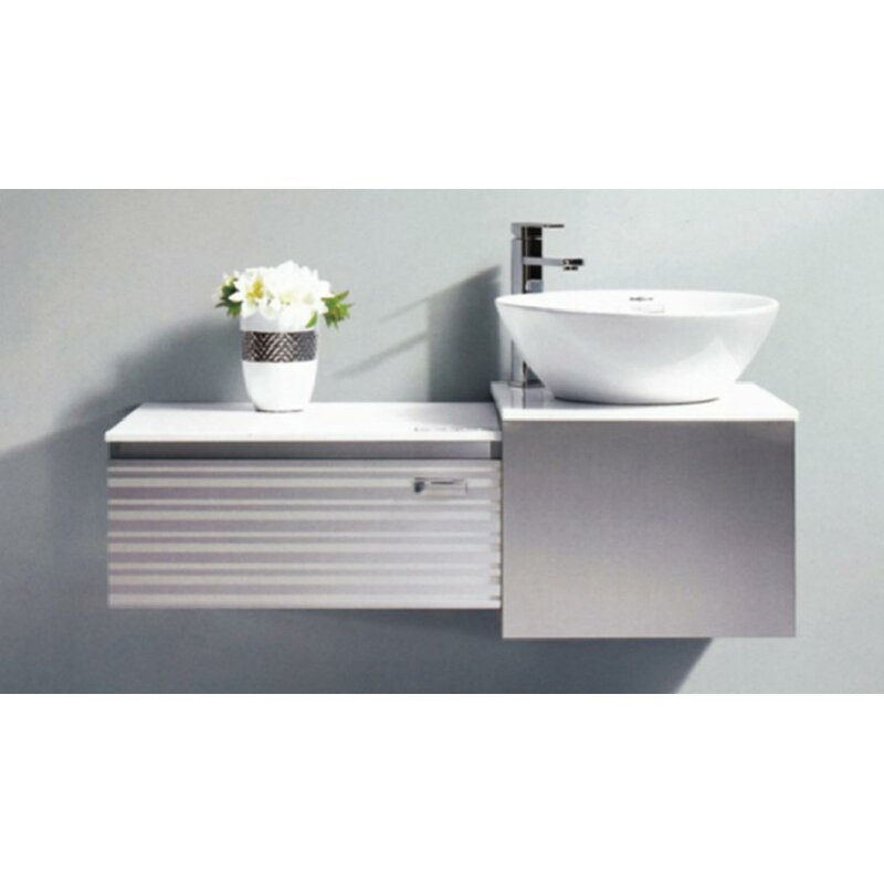 Orren Ellis Donatello 41 Wall Mounted Single Bathroom Vanity Set Wayfair