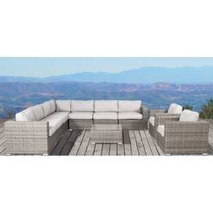 Vardin 10 Piece Sectional Set with Cushions