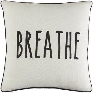 Yahya Breathe Cotton Throw Pillow Cover