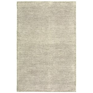 Dunbarton Pin Dot Hand-Hooked Wool Dark Gray Area Rug