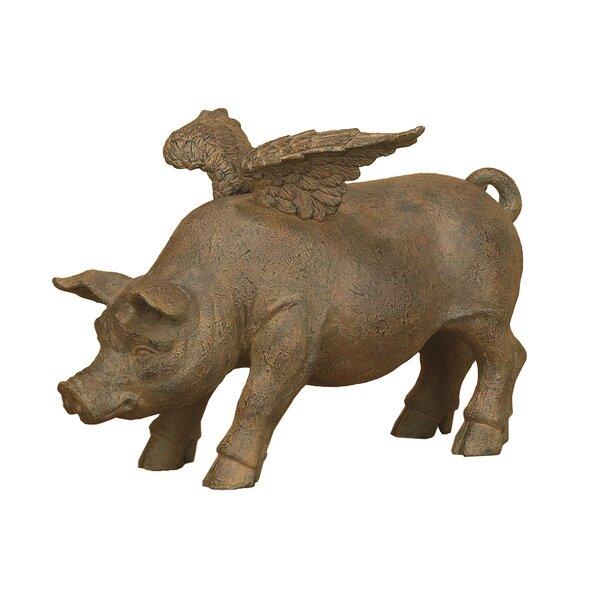 Resin Pig Decor Wayfair