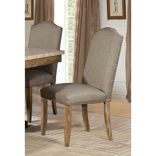 Annette Upholstered Dining Chair (Set of 2) by One Allium Way SKU:ED129908 Details