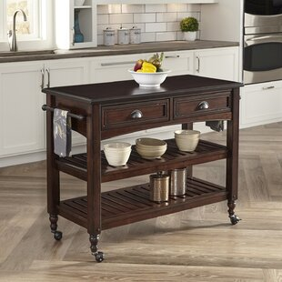 Pablo Wood Kitchen Island by World Menagerie Read Reviews