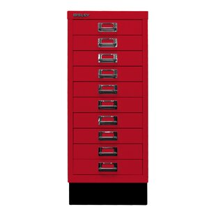 29er 10 Drawer Filing Cabinet By Bisley