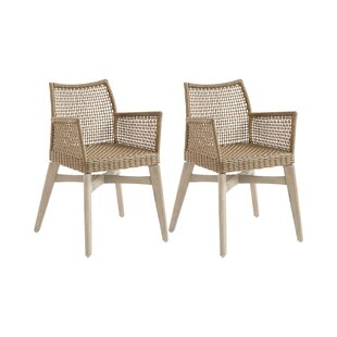 Crocett Bay Upholstered Dining Chair (Set Of 2) By Beachcrest Home