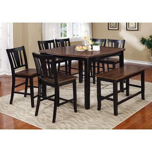 Balfor Counter Height Dining Table by Alcott Hill