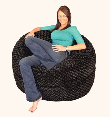 Stupendous Breton Bean Bag Lounger Bay Isle Home Size 4 Upholstery Faux Andrewgaddart Wooden Chair Designs For Living Room Andrewgaddartcom