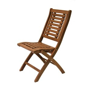 Roseland Eucalyptus Folding Side Chairs (Set of ..