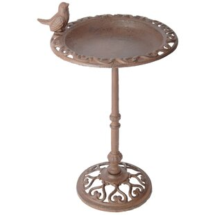 Rodney Bird Bath On Pole Image