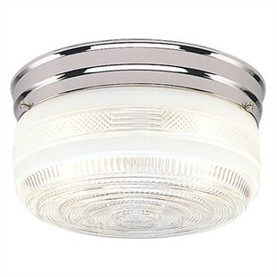 Charlton Home Slocumb 2-Light Flush Mount