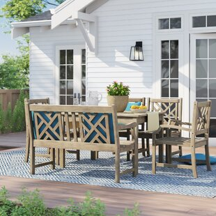 Manchester 6 Piece Dining Set by Sol 72 O..
