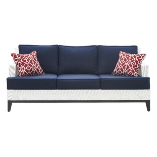 Hampton Patio Sofa With Cushions By Tommy Hilfiger