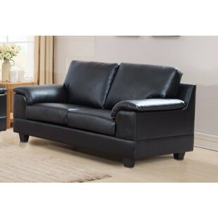 Driggers Loveseat with Velvety Arm Rest by Latitude Run