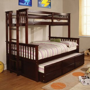 Shop For Sandra Bunk Bed with Trundle by Viv + Rae Reviews (2019) & Buyer's Guide