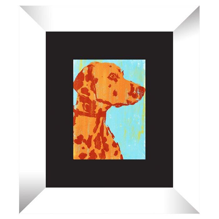 Ptm Pop Dog 4 Piece Framed Painting Print Set Wayfair