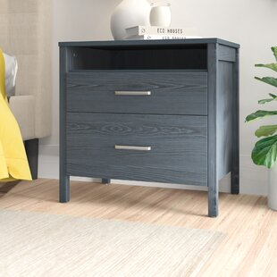 Lupe 2 Drawer Nightstand by Zipcode Design
