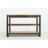 Quillen 50 Solid Wood Console Table by Gracie Oaks