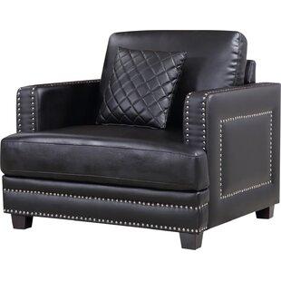 Dia Nailhead Club Chair by Willa Arlo Interiors