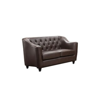 Clearance Godalming Button Tufted Loveseat by Charlton Home Reviews (2019) & Buyer's Guide