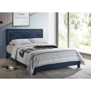 Ondine Upholstered Panel Bed