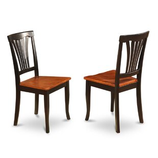 Spurling Solid Wood Dining Chair (Set of 2) August Grove