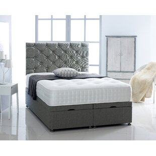 Judd Upholstered Ottoman Bed With Mattress By Ebern Designs