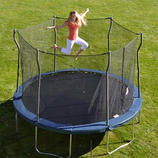 Propel Trampolines Kinetic 12' Round Trampoline and Safety Enclosure