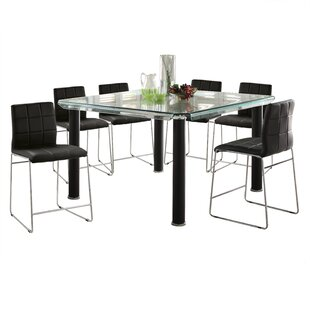 Len 7 Piece Dining Set by Orren Ellis Wonderful