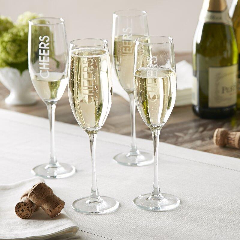 birch lane cheers champagne flutes birch lane