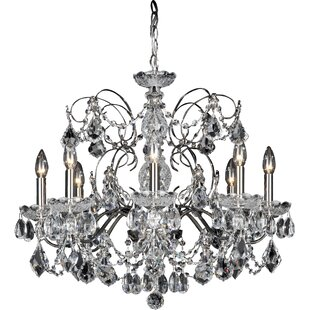 Century 8-Light Chandelier..