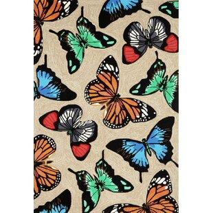 Amara Butterfly Doormat by Latitude Run
