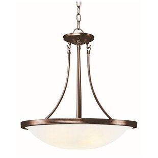 TransGlobe Lighting 3-Light Bowl Pendant
