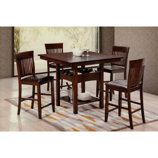 Rock Hill 5 Piece Dining Set by Red Barre..