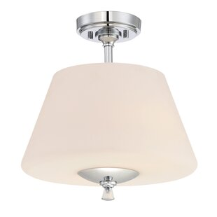 Maegan 2-Light Semi Flush Mount by Mercer41