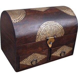 Kamya Acacia Wood Treasure Chest By Bloomsbury Market