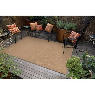 Havana Texture Hand-Woven Camel Indoor/Outdoor Area Rug