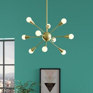Delavega 10-Light Sputnik Chandelier by Wrought Studio