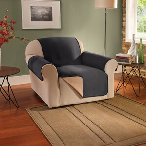 Box Cushion Armchair Slipcover by Innovative Textile Solutions