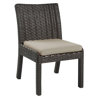 Oakely Patio Dining Chair with Cushion (Set of 2)
